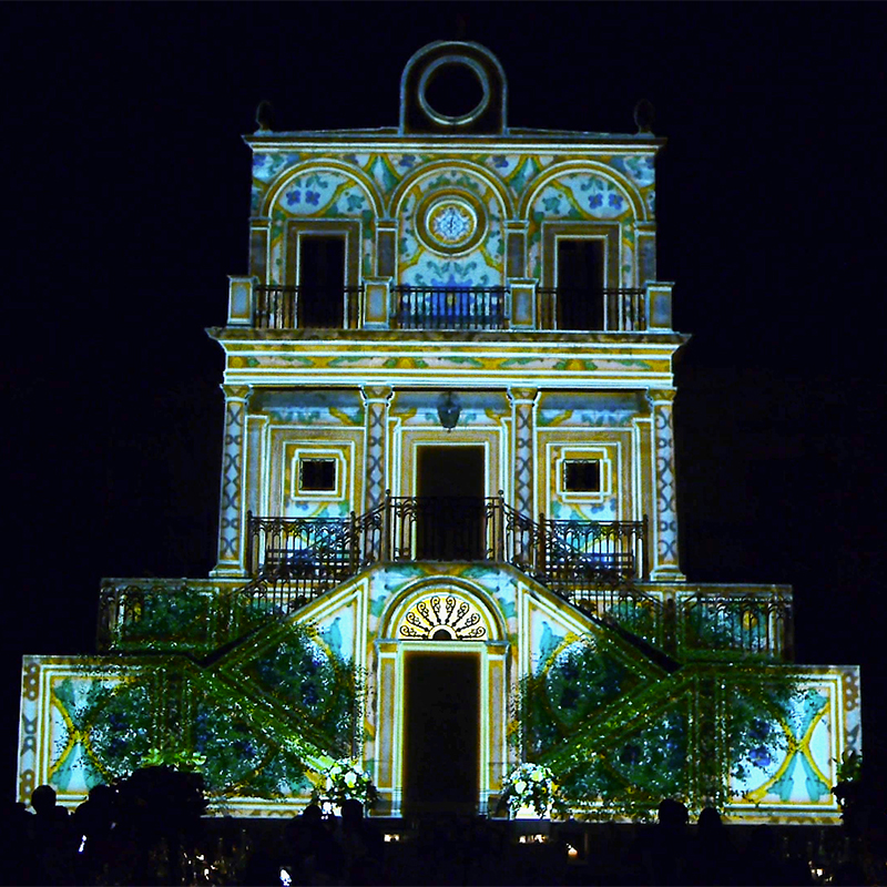 Wedding Video Mapping Villa Fegotto